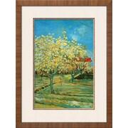 "Art.com Vincent van Gogh 'Orchard with Cypress by Van Gogh' 22"" x 30"" Print (9327565)"