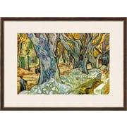 """Art.com Vincent van Gogh 'Roadman by Van Gogh' 30"""" x 22"""" Print (9327564)"""
