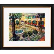 Art.com Vincent van Gogh 'The Asylum Garden at Arles, c.1889' 31 x 26 Print (9094463)