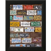 Art.com Walter Bibikow 'Hole in the Rock Tourist Shop With Old License Plates, Moab, Utah, USA' 11 x 14 Print (13162526)