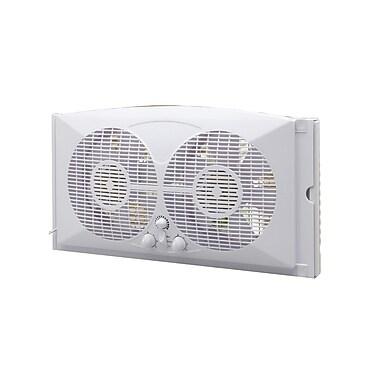 Ecohouzng 9 inch Twin Window Fan, (CT4006W)