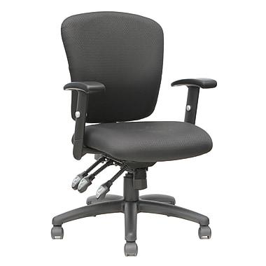 TygerClaw - Chaise de bureau à dossier en tissu, (TYFC2312)