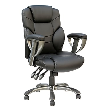 TygerClaw High Back Bonded Leather Executive Chair, (TYFC2314)