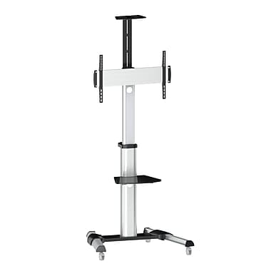 TygerClaw Mobile Display Stand with 90 Degree Display Rotation, (LCD8408SM)