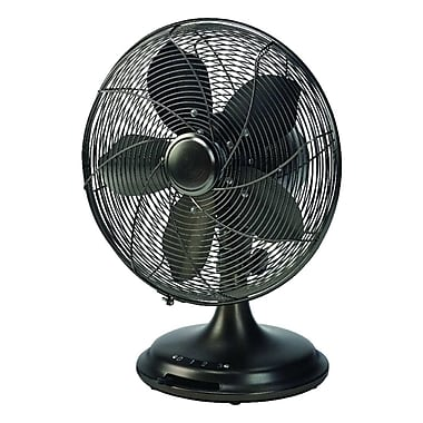 Ecohouzng 12 inch Retro Desk Fan, (CT40060T)