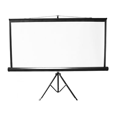 TygerClaw 108 inch Portable Tripod Projection Screen - 16:9, (PM6412)