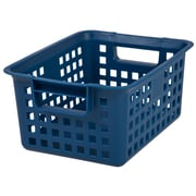 IRIS® Medium Plastic Storage Basket, 8 Pack