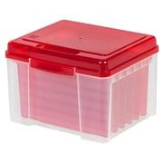 IRIS® Greeting Card Organizer, Red, 6 Pack (215620)