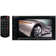 "Boss 6.2"" Double-din In-dash Touchscreen DVD Receiver With Bluetooth"