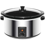 BRENTWOOD SC-170S 8-Quart Stainless Steel Slow Cooker