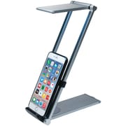 CTA iPad/iPhone/tablet/smartphone Foldable LED Desk Lamp Stand