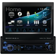 "Dual 7"" Single-din In-dash DVD Receiver With Motorized Touchscreen, Built-in Bluetooth, Dualmirror & HDMI Input"
