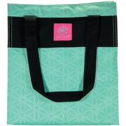GAIAM 31612 Teal Flower of Life Lunch Tote