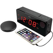 Iluv Tsboomulbk Timeshaker® Boom Wireless Bed-shaker Alarm Clock