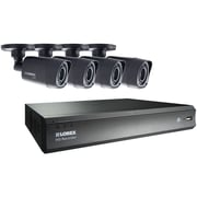 Lorex By Flir Lhv00081tc4 8-channel 720p HD Mpx DVR With 4 720p Weatherproof Ir Cameras