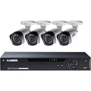 Lorex By Flir Lhv21081tc4b 8-channel 1080p HD Mpx DVR With 4 1080p Weatherproof Ir Cameras