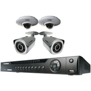 Lorex By Flir Lnr4082tc2p2b 8-channel 1080p HD NVR With 2 Bullet & 2 Dome Cameras