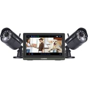 "Lorex By Flir Lw2772h Wireless 4-channel 720p HD Touchscreen Surveillance System With 7"" LCD Screen & 2 Wireless Cameras"