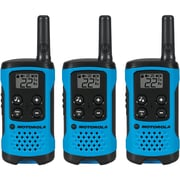 Motorola 16-mile Talkabout T100 2-way Radios Triple Pack