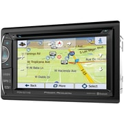 """Power Acoustik 6.2"""" Incite Double-din In-dash GPS Navigation LCD Touchscreen DVD Receiver With Bluetooth & MHL Mobilelink X2"""