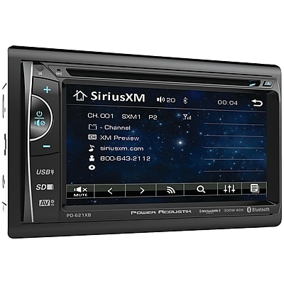 """""""""""Power Acoustik Pd-621xb 6.2"""""""""""""""" Incite Double-din In-dash Lcd Touchscreen Dvd Receiver With Bluetooth & Siriusxm Ready"""""""""""" 2139797"""