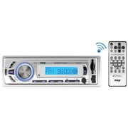 Pyle Plmr21bt Marine Single-din Mechless Marine Am/fm Receiver With Bluetooth®