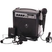 PYLE PRO PWMA220BM Portable Karaoke PA Amplifier & Microphone System