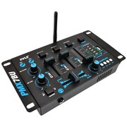 Pyle Pro 3-channel Bluetooth DJ Mixer