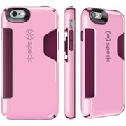 Speck iPhone 6/6s Candyshell Card Case (pale Rose Pink/cabernet)