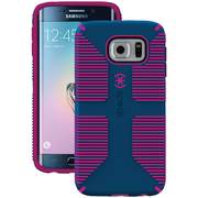 Speck Samsung Galaxy S 6 Edge Candyshell Grip Case (blue/pink)