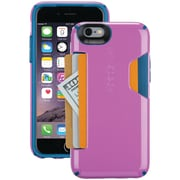 Speck iPhone 6/6s Candyshell Card Case (beaming Orchid Purple/deep Sea Blue)