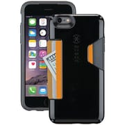 Speck iPhone 6 Plus/6s Plus Candyshell Card Case (black/slate Gray)