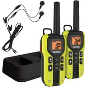 Uniden 40-mile 2-way FRS/GMRS Radios With Headset (yellow; Li-ion Batteries)