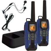 Uniden 50-mile 2-way FRS/GMRS Radios (blue)