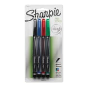 Sharpie® Pens, Medium Point, Assorted Colors, 4/pk (1764002)