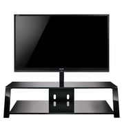Bell'O Triple Play 63 Inch TV Stand for TVs up to 70 Inch, Black (TP4463)