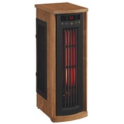 Duraflame Portable Electric Infrared Quartz Oscillating Tower Heater, Oak (5HM8000-O142)