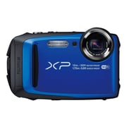 Fujifilm FinePix XP90 16.4 MP Compact Camera, 5x Optical Zoom, 5 - 25 mm Focal, Blue/Black