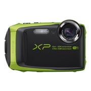 Fujifilm FinePix XP90 16.4 MP Compact Camera, 5x Optical Zoom, 5 - 25 mm Focal, Lime/Black