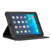 Targus® THD108USZ SafePORT Rugged VersaVu Polycarbonate 360 deg Rotating Carrying Case for Apple iPad Air, Black