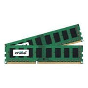 Micron® Crucial™ CT2K51264BD160B 8GB DDR3L SDRAM UDIMM 240-pin DDR3L-1600/PC3-12800 RAM Module