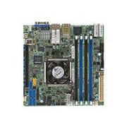 Supermicro® System on Chip 128GB Mini ITX Server Motherboard (X10SDV-TLN4F)