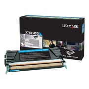 Lexmark® X748H4CG Cyan 10000 Pages High Yield Toner Cartridge for X748 Printer
