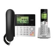 Vtech CS6949 Cordless Expandable Phone System, Black/Silver