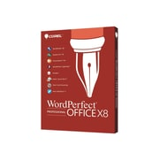 Corel WordPerfect Office X8 Professional Upgrade Edition Software, 1 User, Windows, Disk (WPOX8PREFDVDUG)
