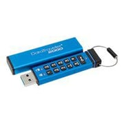 Kingston® DataTraveler 2000 64GB 135 Mbps Read/40 Mbps Write USB 3.1 Flash Drive, Blue (DT2000)
