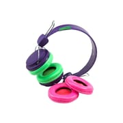 SMS Audio KS-GDIY-ROH-PRP KidzSafe™ D.I.Y. Over-the-Head Headphone, Purple
