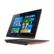 "Acer™ Aspire Switch 10E SW3-016-17QP 10.1"" 2 in 1 Netbook, Windows 10 Home, Red/Black"