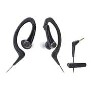 Audio-Technica® ATH-SPORT1 SonicSport® In-ear Headphone, Black