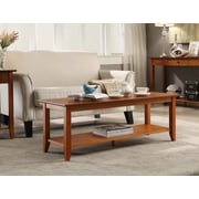 Convenience Concepts Inc. American Heritage Coffee Table w/Shelf Cherry Finish (7104088CH)